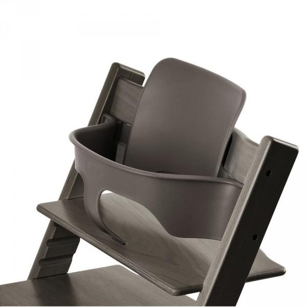 stokke tripp trapp baby set hazy grey. Black Bedroom Furniture Sets. Home Design Ideas